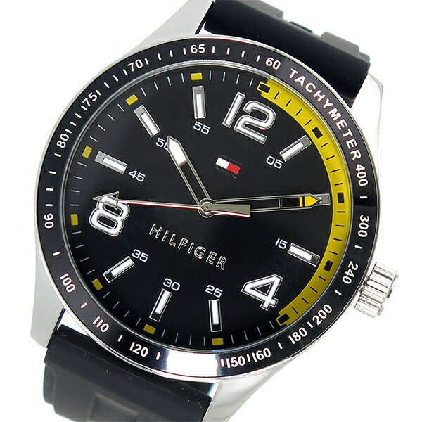 トミー ヒルフィガー TOMMY HILFIGER クオーツ メンズ 腕時計 1791174 ブラック