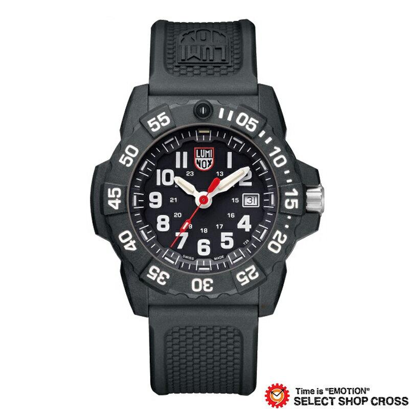 LUMINOX ルミノックス 腕時計 メンズ ネイビーシール Navy SEAL 3500 SERIES ブラック 3501