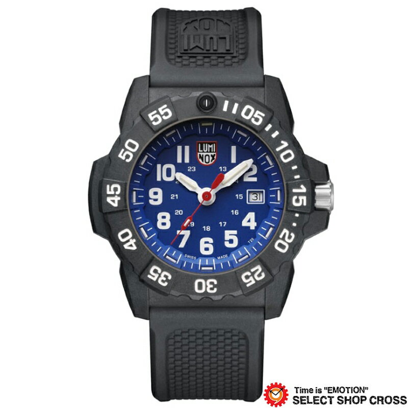 LUMINOX ルミノックス 腕時計 メンズ ネイビーシール Navy SEAL 3500 SERIES ブルー/ブラック 3503