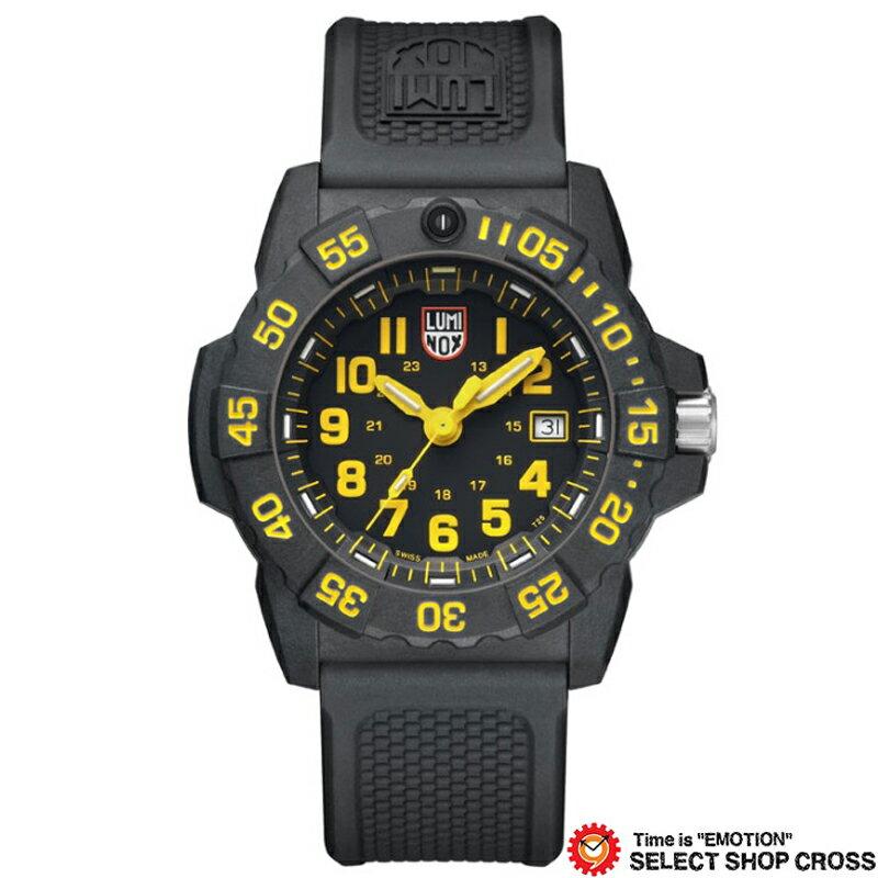 LUMINOX ルミノックス 腕時計 メンズ ネイビーシール Navy SEAL 3500 SERIES ブラック/イエロー 3505