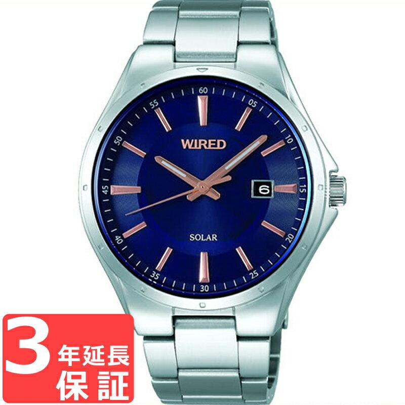 【予約2017年12月22日発売】SEIKO セイコー WIRED ワイアード ソーラー メンズ 腕時計 AGAD401 【着後レビューを書いて1000円OFFクーポンGET】