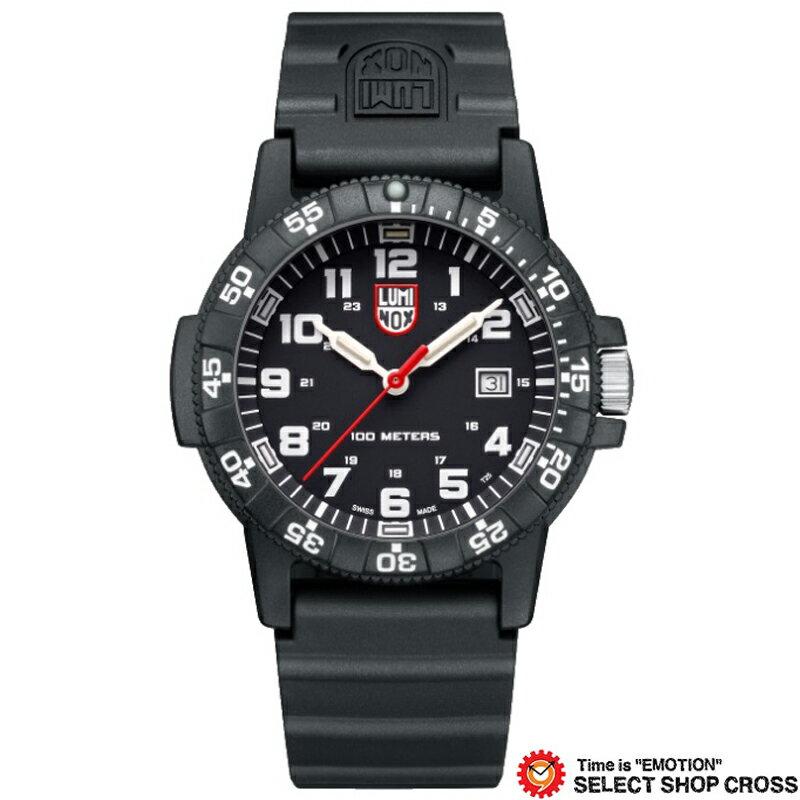 LUMINOX ルミノックス 腕時計 メンズ レザーバック シータートル ジャイアント LEATHERBACK SEA TURTLE GIANT ブラック 0321
