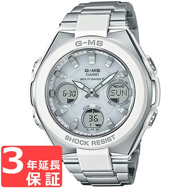 CASIO カシオ BABY-G G-MS ベビージー ジーミズ 電波ソーラー レディース 腕時計 MSG-W100D-7AJF