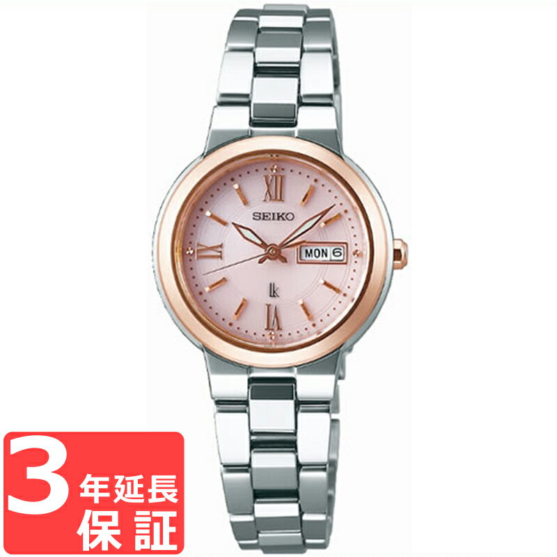 【予約2018年1月26日発売】 SEIKO セイコー LUKIA ルキア ソーラー レディース 腕時計 SSVN030