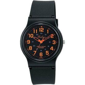 Q&Q シチズン キューアンドキュー 腕時計 ブランド アナログ メンズ レディース ユニセックス ファルコン vp46-858 ブラック×オレンジ ゆうパケット対応