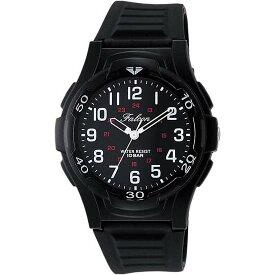 Q&Q シチズン キューアンドキュー 腕時計 ブランド アナログ メンズ レディース ユニセックス ミリタリー vp84-854 ブラック×ホワイト ゆうパケット対応