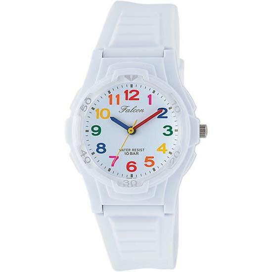 Q&Q シチズン キューアンドキュー 腕時計 ブランド アナログ メンズ レディース ユニセックス ファルコン vs06-001 ホワイト×多彩 ゆうパケット対応