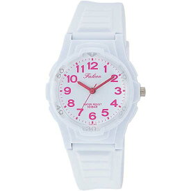 Q&Q シチズン キューアンドキュー 腕時計 ブランド アナログ メンズ レディース ユニセックス ファルコン vs06-006 ホワイト×ショッキングピング ゆうパケット対応