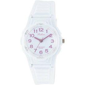 Q&Q シチズン キューアンドキュー 腕時計 ブランド アナログ メンズ レディース ユニセックス ファルコン vs06-007 ホワイト×ピンク ゆうパケット対応