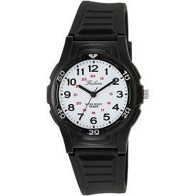 Q&Q シチズン キューアンドキュー 腕時計 ブランド アナログ メンズ レディース ユニセックス ファルコン スタンダード vs08-002 ブラック×ホワイト ゆうパケット対応