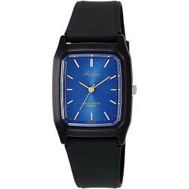 Q&Q シチズン キューアンドキュー 腕時計 ブランド アナログ メンズ レディース ユニセックス ファルコン vs10-002 ブルー×ゴールド×ブラック ゆうパケット対応