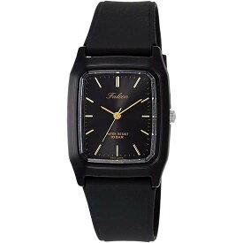 Q&Q シチズン キューアンドキュー 腕時計 ブランド アナログ メンズ レディース ユニセックス ファルコン vs10-003 ゴールド×ブラック ゆうパケット対応