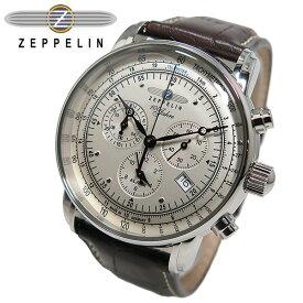ツェッペリン ZEPPELIN 100周年記念 クオーツ メンズ クロノ 腕時計 7680-1
