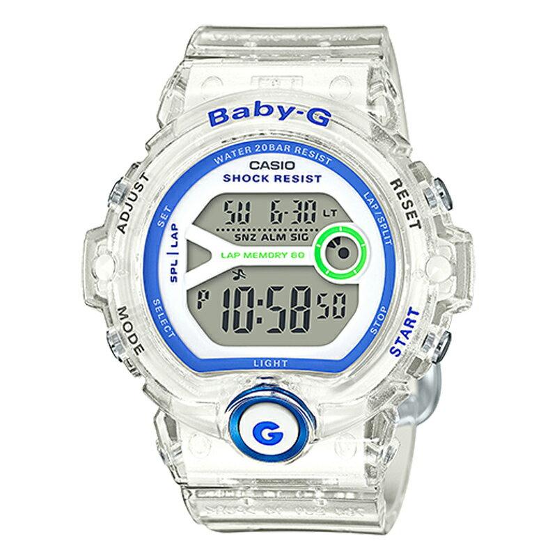 【3年保証】 CASIO カシオ BABY-G ベビーG フォー ランニング FOR RUNNING レディース キッズ 子供 腕時計 ブランド BG-6903-7D スケルトン 【あす楽】