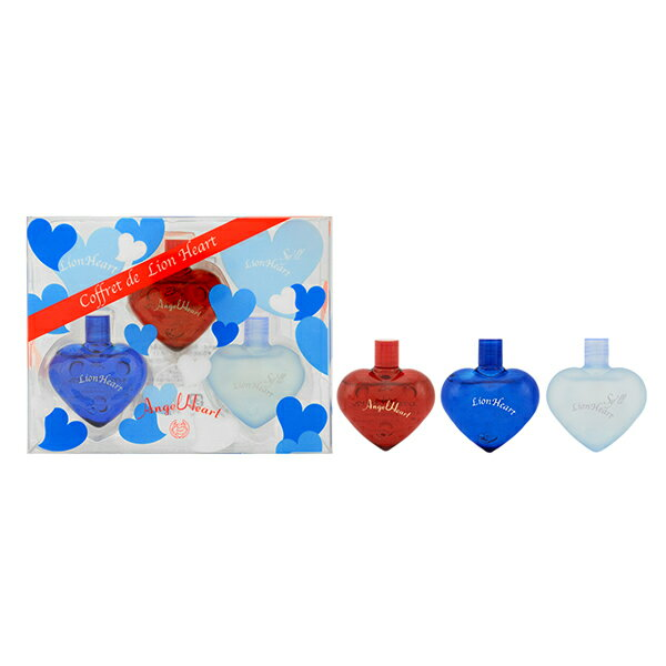 ライオンハート LION HEART コフレドライオンハート(ミニチュアセット) 香水3点セット