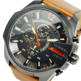 ディーゼル DIESEL メガチーフ メンズ クオーツ クロノ 腕時計 DZ4343 ブラック