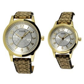9db074c580 コーチ COACH 14000043 ペアウオッチ ニュー クラシック シグネチャー 腕時計 メンズ レディース ユニセックス
