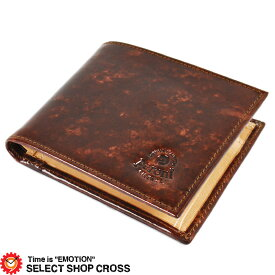 ペローニ PERONI 二つ折り財布 ハンドメイド Art80011 peroni-7575269 ブライヤー×ナチュラル