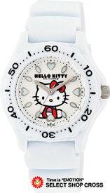 シチズン Q&Q ハローキティ Hello Kitty クォーツ レディース 腕時計 vq75-431 ホワイト 白 【女性用腕時計 リストウォッチ ランキング ブランド かわいい カラフル キッズ ケース ベルト】