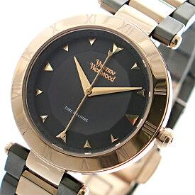 ヴィヴィアン ウエストウッド Vivienne Westwood 腕時計 メンズ レディース ユニセックス VV206RSGN クオーツ グレー ピンクゴールド