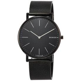 【3年保証】 スカーゲン SKAGEN シグネチャー SIGNATUR メンズ レディース ユニセックス 腕時計 ブラック SKW6484 スカーゲン 時計 SKAGEN 【あす楽】