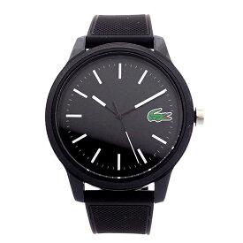 ラコステ LACOSTE 腕時計 2010986 L.12.12 ブラック ユニセックス メンズ レディース 黒 ブランド プレゼント男性 女性 【あす楽】