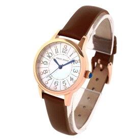 マウロジェラルディ Mauro Jerardi ソーラー 天然シェル文字盤 3針 レディース 腕時計 レザー MJ060-1 ブラウン