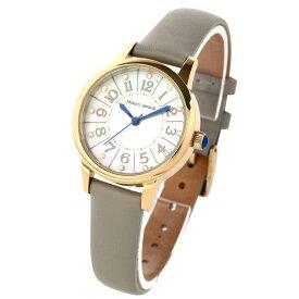 マウロジェラルディ Mauro Jerardi ソーラー 天然シェル文字盤 3針 レディース 腕時計 レザー MJ060-3 グレー