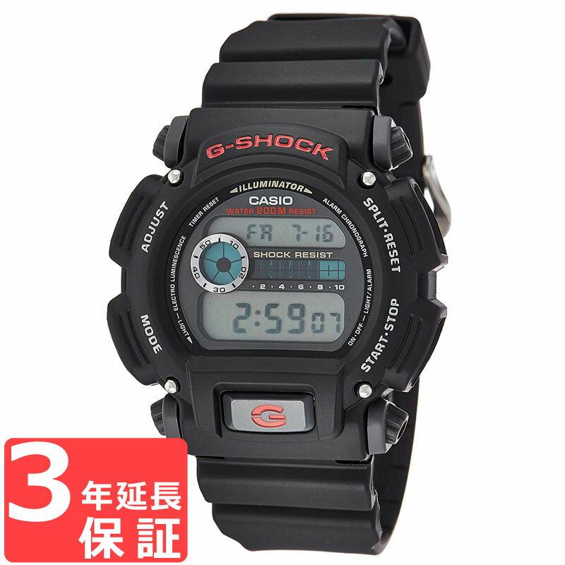 【3年保証】 カシオ 腕時計 CASIO G-SHOCK Gショック ジーショック 時計 メンズ 新品 時計 多機能 防水 海外モデル DW-9052-1V ブラック 黒 DW-9052-1VDR カシオ 腕時計