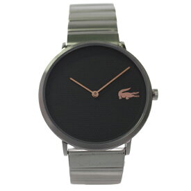 ラコステ LACOSTE クオーツ メンズ 腕時計 2010954 MOON グレー シルバー 【あす楽】
