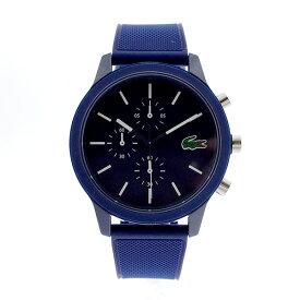 ラコステ LACOSTE クオーツ メンズ 腕時計 2010970 L.12.12 ネイビー ラバー 【あす楽】