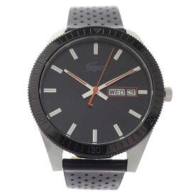 ラコステ LACOSTE クオーツ メンズ 腕時計 2010982 LEGACY ブラック レザー