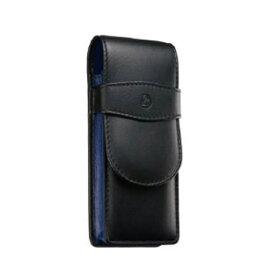 ペリカン Pelikan レザー ペンケース 3本用 TG-33N ブラック×ブルー 15×5.7cm