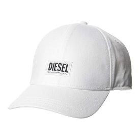 ディーゼル DIESEL キャップ 帽子 ベースボールキャップ ホワイト メンズ レディース ユニセックス ブランド 00SYQ9 0BAUI 100 【あす楽】