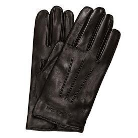 エンポリオ アルマーニ EMPORIO ARMANI 手袋 ダークブラウン メンズ ブランド 624139 CC203 00152 【あす楽】