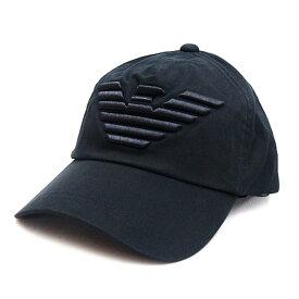 エンポリオ アルマーニ EMPORIO ARMANI キャップ 帽子 ベースボールキャップ ブラック メンズ レディース ユニセックス ブランド 627522 CC995 00020