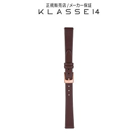 【国内代理店正規商品】 クラスフォーティーン KLASSE14 Volare OKTO Rose Gold Buckle / Brown Leather Strap 12mm 腕時計 替えベルト ブラウン BDOKRG001S クラス14 class14