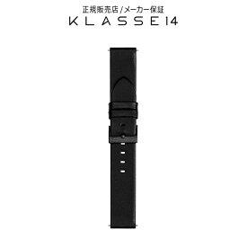 【国内代理店正規商品】 クラスフォーティーン KLASSE14 Volare Black Buckle / Black Leather Strap 20mm 腕時計 替えベルト ブラック BDVOBK001M クラス14 クラッセ14 class14