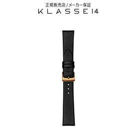 【国内代理店正規商品】 クラスフォーティーン KLASSE14 Volare Rose Gold Buckle / Black Leather Strap 17mm 腕時計 替えベルト ブラック BDVORG001W クラス14 クラッセ14 class14