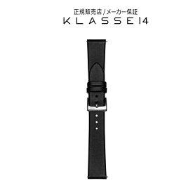 【国内代理店正規商品】 クラスフォーティーン KLASSE14 Volare Silver Buckle / Black Leather Strap 17mm 腕時計 替えベルト ブラック BDVOSR001W クラス14 クラッセ14 class14