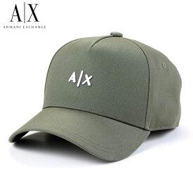 アルマーニ エクスチェンジ ARMANI EXCHANGE A|X キャップ 2020年SS春夏 ロゴ ベースボールキャップ 帽子 954112 CC571 05580 カーキ ホワイト ブランド 【あす楽】