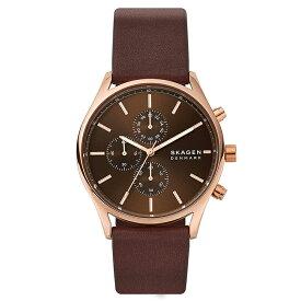 スカーゲン SKAGEN ホルスト HOLST メンズ 腕時計 ブラウン ピンクゴールド SKW6678 ブランド プレゼント ギフト 男性 おすすめ おしゃれ 【あす楽】
