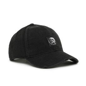 ディーゼル DIESEL CONDI-MAX ベースボールキャップ モヒカンラベル ブラック 00SHHZ 0NAUI 900A 02 ブランド おしゃれ メンズ レディース 黒 帽子 【あす楽】