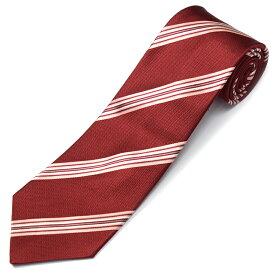 ポールスミス PAUL SMITH ブランドギフトケース付 シルク100% イタリア製 メンズ ネクタイ ブランド 21SS-FLU47-28 還暦 還暦祝い 還暦ギフト お祝い 記念 赤 赤色 赤いもの レッド 変わったプレゼント 贈り物 父親 上司 家族 お父さん おじいちゃん