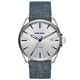 ディーゼル DIESEL メンズ MS9 エムエスナイン シルバー/デニム DZ1891 腕時計 人気 ブランド 男性 プレゼント おしゃれ