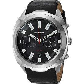 ディーゼル DIESEL メンズ TUMBLER タンブラー ブラック/ブラックレザー DZ4499 腕時計 人気 ブランド 男性 プレゼント おしゃれ