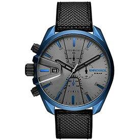 ディーゼル DIESEL メンズ MS9 CHRONO エムエスナイン クロノグラフ グレー/ブラックラバー DZ4506 腕時計 人気 ブランド 男性 プレゼント おしゃれ