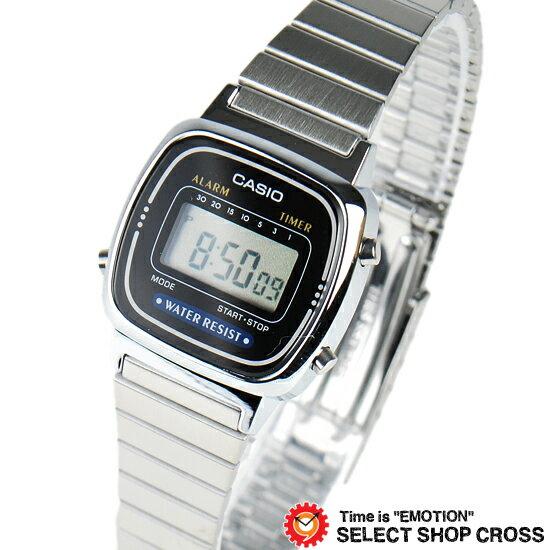 【100%本物保証】 カシオ CASIO レディース キッズ 子供 メンズ 腕時計 ブランド デジタル LA670WD-1 ブルー/シルバー 海外モデル チプカシ チープカシオ 【着後レビューを書いて1000円OFFクーポンGET】