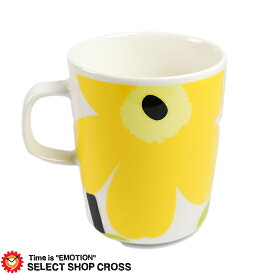 マリメッコ Marimekko マグカップ UNIKKO MUG ウニッコマグ mari-63431-020 White/Lime ホワイト 白/ライム