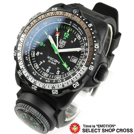 ルミノックス LUMINOX 腕時計 メンズ 2013年バーゼルモデル RECON POINTMAN RECON NAV SPC リーコン ポイントマン 8831.KM ブラック 【着後レビューを書いて1000円OFFクーポンGET】